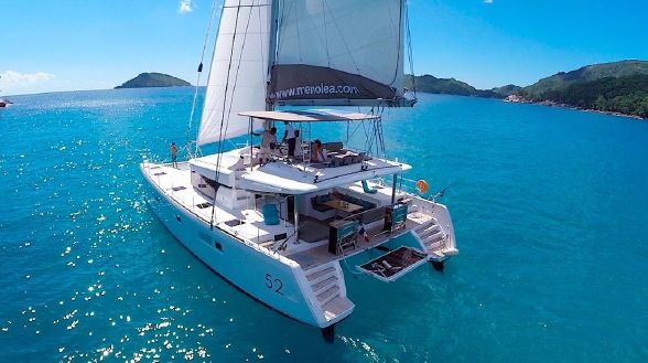 Used Sail Catamarans for Sale 2014 Lagoon 52