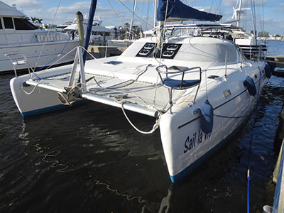 Catamaran for Sale Jaguar 38  in Fort Pierce Florida (FL)  SAIL LA VIE Thumbnail for Listing Preowned Sail