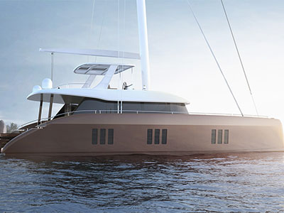 New Sail Catamaran for Sale  Sunreef 60