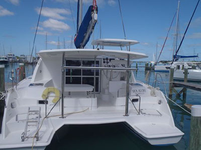 Preowned Sail Catamarans for Sale 2014 Leopard 39