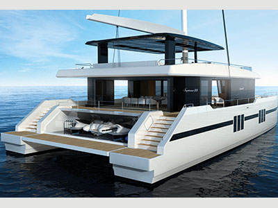New Sail Catamarans for Sale  Supreme 88 Sailing