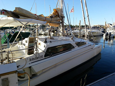 Trimaran for Sale Telstar 28   in Edgewater  Maryland (MD)  THE CURE  Thumbnail for Listing Preowned Sail