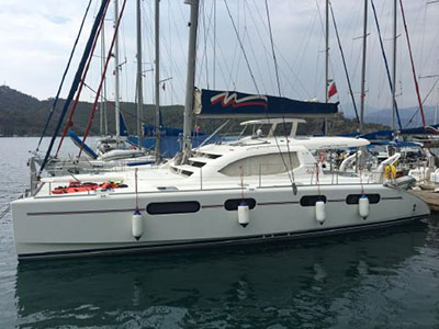 Catamarans FAR NIENTE, Manufacturer: ROYAL CAPE CATAMARANS, Model Year: 2012, Length: 46ft, Model: Leopard 46 , Condition: Preowned, Listing Status: Catamaran for Sale, Price: EURO 330000