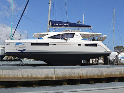 SOLD Leopard 48  in Fort Lauderdale Florida (FL)  WIDAGO  Preowned Sail