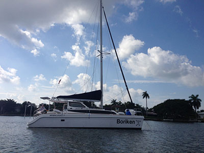 Used Sail Catamarans for Sale 2014 Legacy 35
