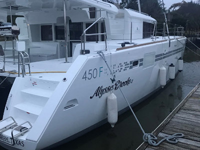 Catamaran for Sale Lagoon 450  in Kemah Texas (TX)  ALYSSA BROOKE II  Preowned Sail