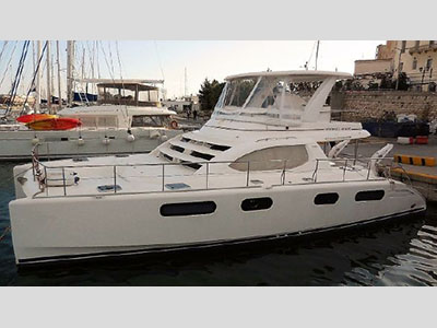 Used Power Catamarans for Sale 2012 Leopard 47 PC