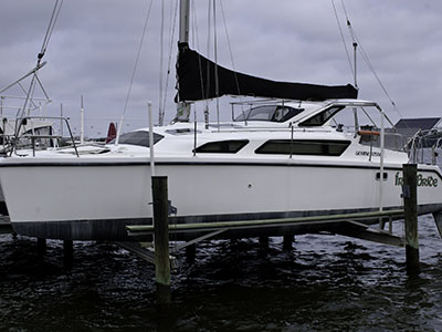 Used Sail Catamaran for Sale 2008 Gemini 105Mc