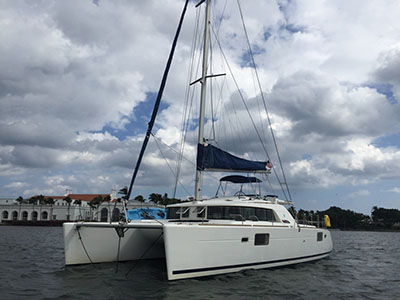 SOLD Lagoon 440  in Fort Lauderdale Florida (FL)  ALLEGRO Thumbnail for Listing Preowned Sail