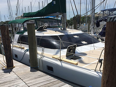 Catamarans HAPPY CAT, Manufacturer: VICTORY, Model Year: 2001, Length: 35ft, Model: Victory 35, Condition: Preowned, Listing Status: Under Offer, Price: USD 144000