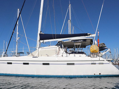 Catamaran for Sale Privilege 445  in San Diego California (CA)  MALIKALALOU Thumbnail for Listing Preowned Sail