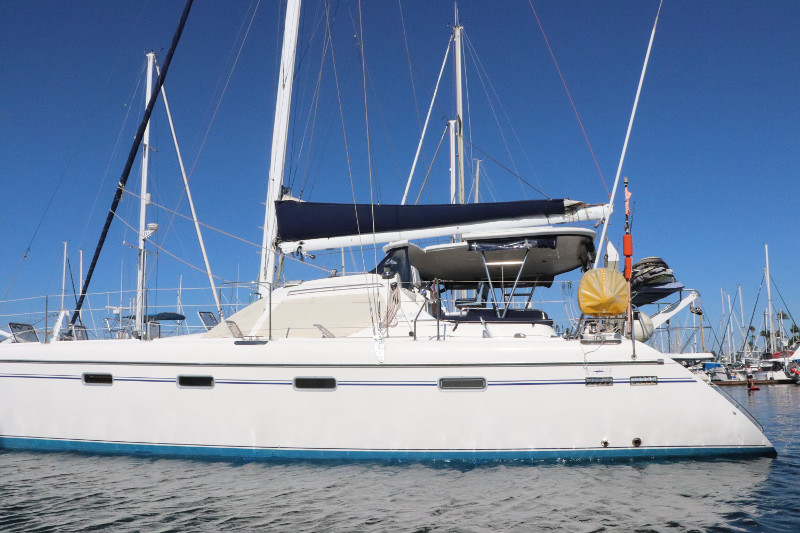 Catamaran for Sale Privilege 445  in San Diego California (CA)  MALIKALALOU  Preowned Sail