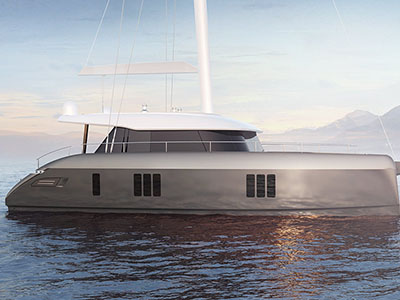 New Sail Catamarans for Sale 2018 Sunreef 50