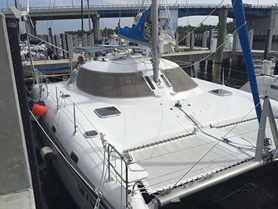 Catamarans SIRENITA, Manufacturer: CHARTER CATS SA, Model Year: 2003, Length: 37ft, Model: Wildcat 350, Condition: Preowned, Listing Status: Coming Soon, Price: USD 135000