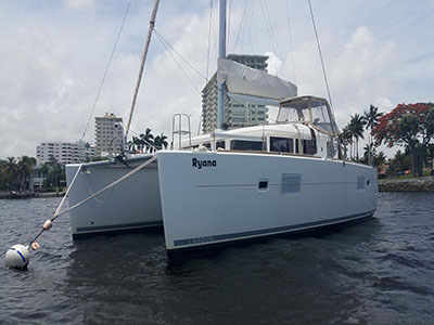 Catamarans RYANA, Manufacturer: LAGOON, Model Year: 2012, Length: 42ft, Model: Lagoon 400, Condition: Preowned, Listing Status: Catamaran for Sale, Price: USD 366000