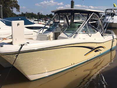 Used Power Catamarans for Sale 2011 290DC