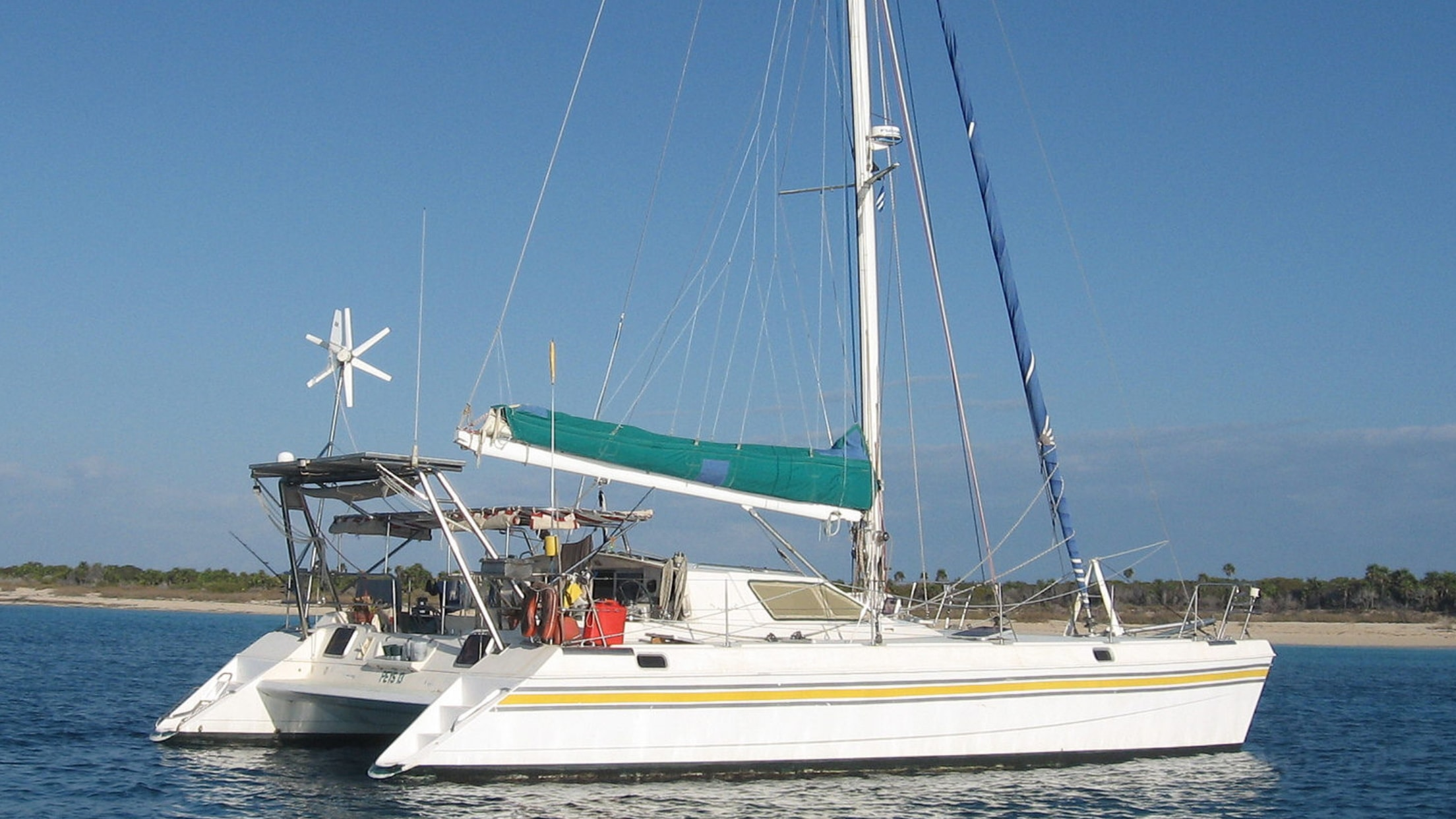 Catamaran for Sale St. Francis 44 Mark II  in Rio Dulce Guatemala BIRDWING  Preowned Sail
