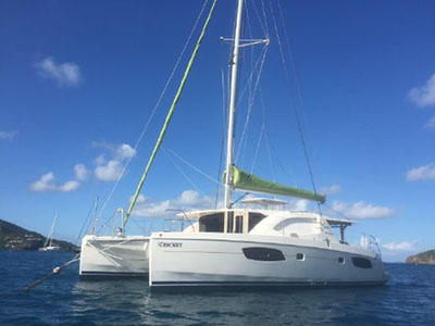 Catamarans CRICKET, Manufacturer: ROBERTSON & CAINE, Model Year: 2012, Length: 42ft, Model: Leopard 44, Condition: Preowned, Listing Status: Catamaran for Sale, Price: USD 359000