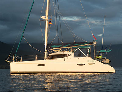 Used Sail Catamarans for Sale 2006 Lavezzi 40