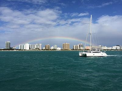 New Sail Catamaran for Sale  Legacy 35
