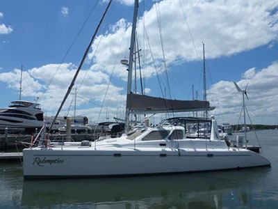 Catamarans REDEMPTION, Manufacturer: VOYAGE YACHTS, Model Year: 2002, Length: 44ft, Model: Voyage 440, Condition: Preowned, Listing Status: Catamaran for Sale, Price: USD 315000
