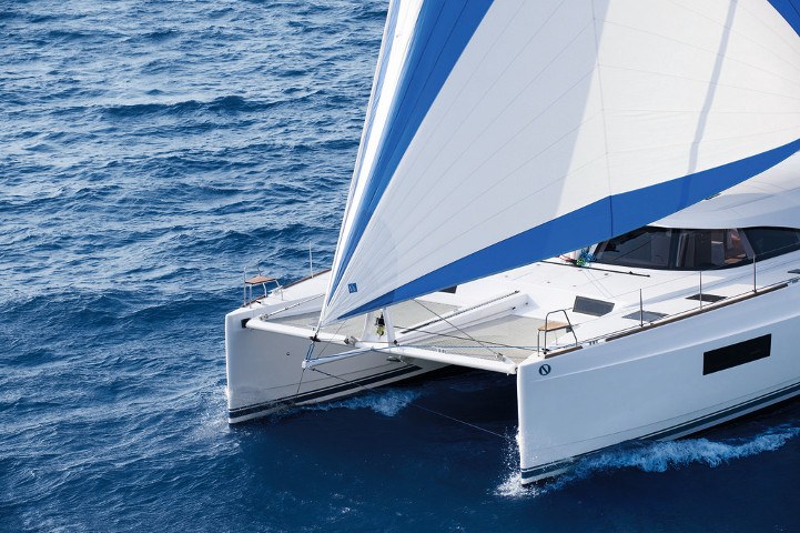 Catamaran for Sale Nautitech 54  in Rochefort France BROCHURE-NAUTITECH 54  Brochure Sail