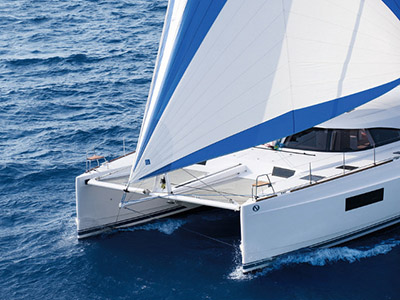 New Sail Catamaran for Sale  Nautitech 54