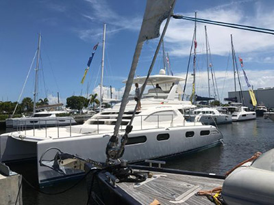 Preowned Power Catamarans for Sale 2009 Leopard 47 PC