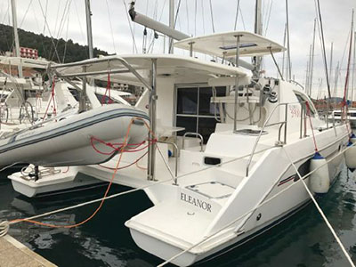 Catamarans ELEANOR, Manufacturer: ROBERTSON & CAINE, Model Year: , Length: 37ft, Model: Leopard 39, Condition: Preowned, Listing Status: Catamaran for Sale, Price: EURO 199900