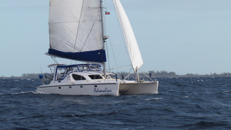 Preowned Sail Catamarans for Sale 2001 Voyage 38