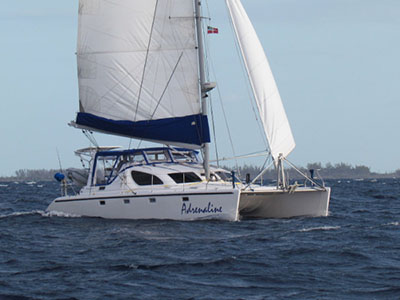 Catamaran for Sale Voyage 38   in St. Augustine Florida (FL)  ADRENALINE Thumbnail for Listing Preowned Sail