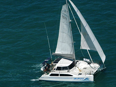 Used Sail Catamaran for Sale 2000 Seawind 1000