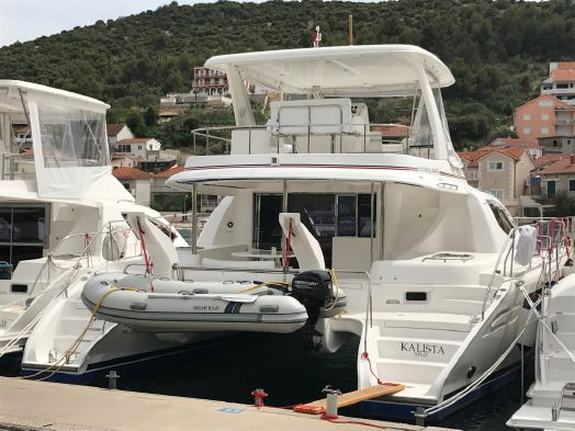 Used Power Catamarans for Sale  Leopard 47 PC