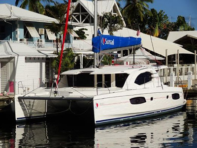 Catamaran for Sale Leopard 44  in Marsh Harbour Bahamas TROPICAL ESCAPE II  Preowned Sail
