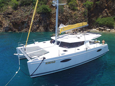 Catamarans KIMIKO, Manufacturer: FOUNTAINE PAJOT , Model Year: 2014, Length: 43ft, Model: Helia 44, Condition: Preowned, Listing Status: Coming Soon, Price: USD 485000