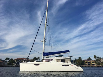 Preowned Sail Catamarans for Sale 2012 Orana 44