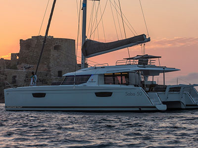 New Sail Catamarans for Sale 2020 Saba 50