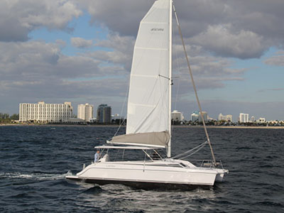 New Sail Catamarans for Sale  Freestyle 37