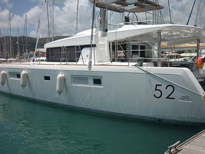 Catamaran for Sale Lagoon 52 F  in Road Town British Virgin Islands RUMBA Thumbnail for Listing Preowned Sail
