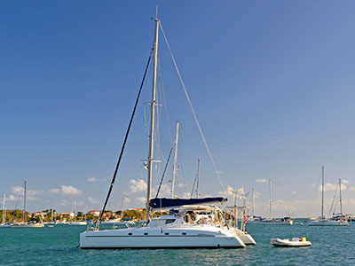 Used Sail Catamarans for Sale 1999 Bahia 46