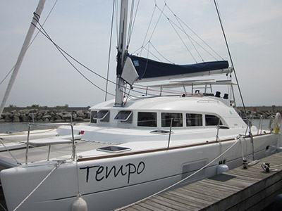 SOLD Lagoon 380 S2  in St. Augustine Florida (FL)  TEMPO Thumbnail for Listing Preowned Sail