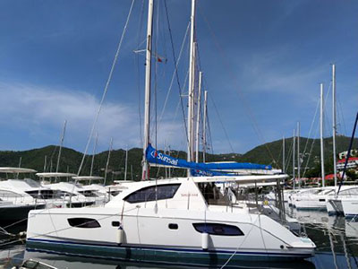 Used Sail Catamaran for Sale 2012 Leopard 44