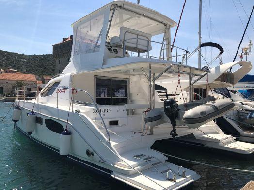 Catamaran for Sale Leopard 39 PC  in Croatia ZORRO  Preowned Power