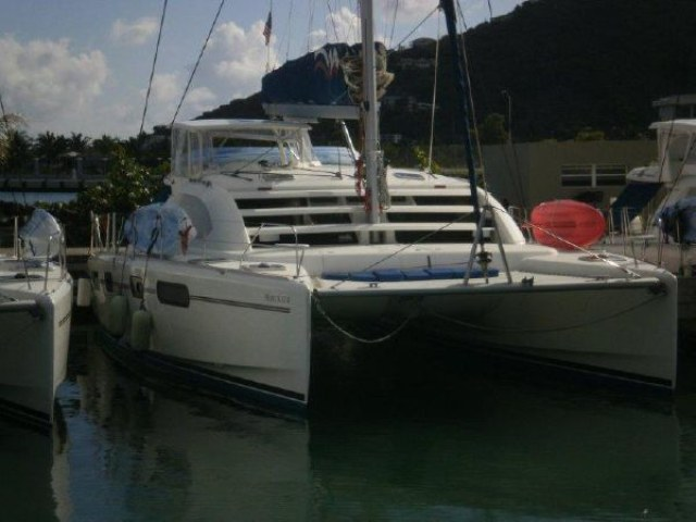 SOLD Leopard 46   in Grenada CURIOSITY  Preowned Sail