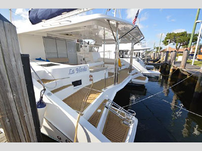 Used Sail Catamarans for Sale 2014 Leopard 48