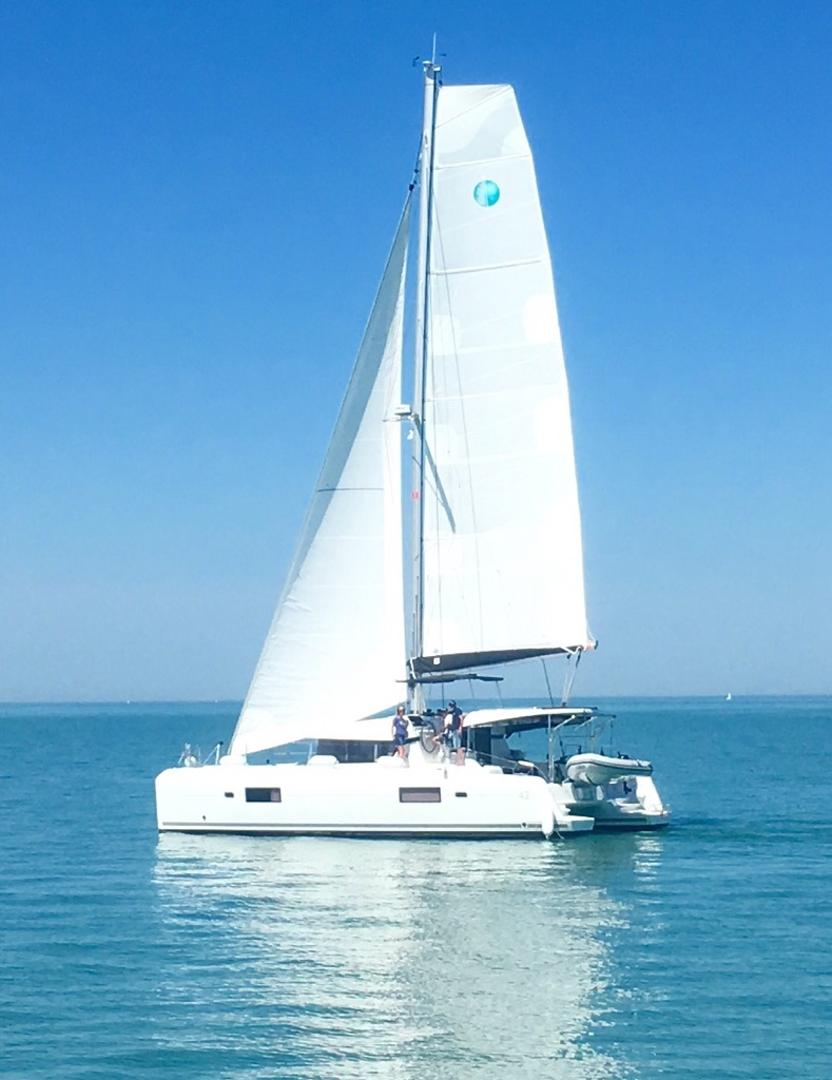 Used Sail Catamarans for Sale 2017 Lagoon 42