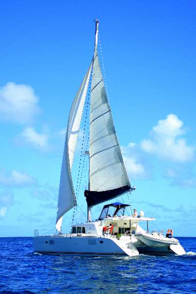SOLD Lagoon 440  in St. Thomas U.S. Virgin Islands MISS KITTY  Preowned Sail