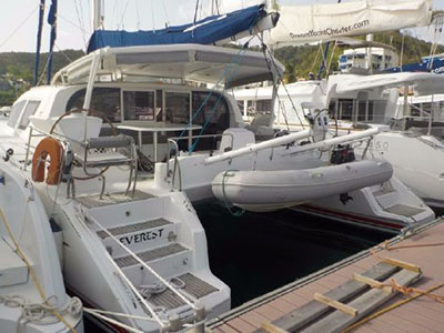 Catamaran for Sale 42  in Martinique EVEREST Thumbnail for Listing Preowned Sail