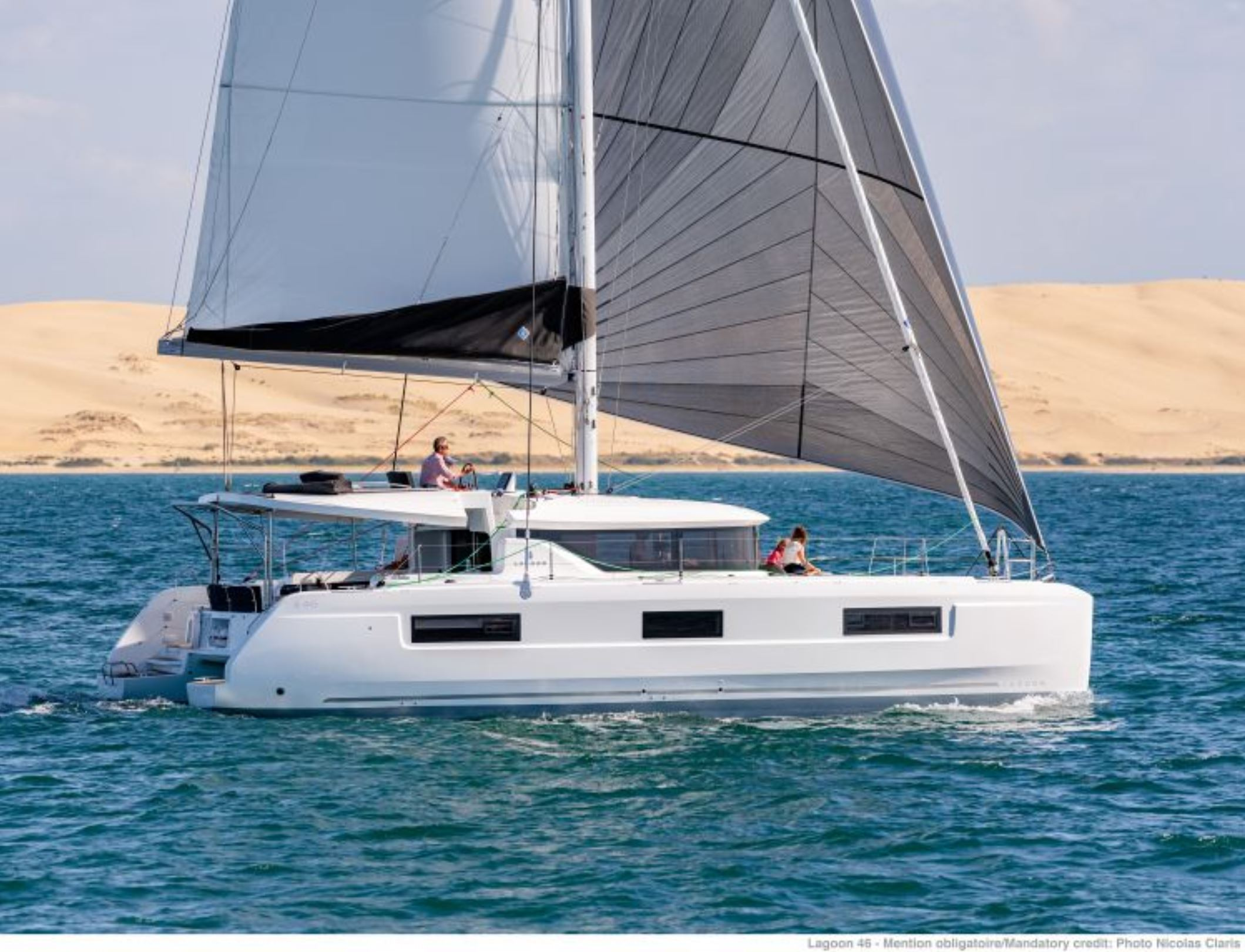 New Sail Catamaran for Sale  Lagoon 46