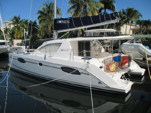 Used Sail Catamaran for Sale 2012 Leopard 39